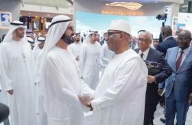 محمد بن راشد يلتقي رئيس مالي