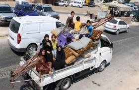آلاف النازحين يعودون إلى منازلهم في إدلب