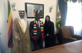 تعاون بين الإمارات وزيمبابوي في مجالات الاستثمار والطاقة وتجنب الازدواج الضريبي
