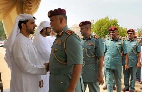 مدير عام شرطة أبوظبي يقدم واجب العزاء لأسرة الشهيد أحمد البلوشي