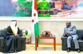 الرئيس البوروندي يتسلم أوراق اعتماد سفير الدولة