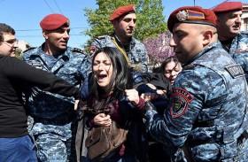 التعبئة ضد سركيسيان لم تتراجع في ارمينيا