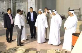 المدير التنفيذي لقطاع الدعم المؤسسي والاتصال يتفقد مشروع مركز الخدمات لمحاكم دبي في «مركز وافي»
