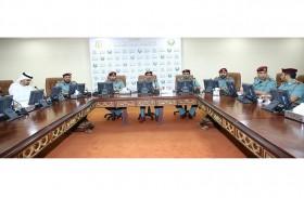 شرطة رأس الخيمة تبحث تطوير خدمات الإسعاف الوطني
