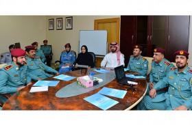 شرطة الشارقة تبحث الخطط والبرامج المستقبلية لعام زايد 2018