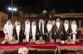 حاكم رأس الخيمة يحضر أفراح النعيمي والزعابي والسويدي والنعيم