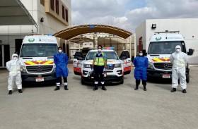 الإسعاف الوطني يواصل جهوزيته في نقل المرضى ويشدد إجراءات الوقاية من فيروس كورونا