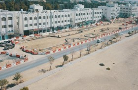 بلدية مدينة أبوظبي تعزز منظومة البنية التحتية في مدينة بني ياس
