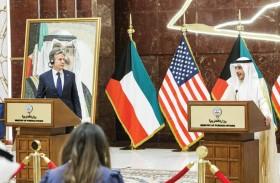بلينكن: نعمل مع الكويت لتعزيز الأمن في المنطقة