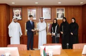 غرفة عجمان تبحث تعزيز التعاون الاقتصادي مع سفارة جمهورية أوزبكستان