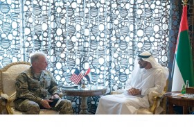 محمد بن زايد يبحث مع قائد قيادة العمليات الخاصة الأمريكية العلاقات والقضايا الإقليمية والدولية