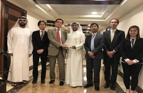 جمارك دبي تبحث مع وفد تجاري ياباني تعزيز التعاون والتنسيق في حماية حقوق الملكية الفكرية