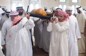 ديوان حاكم أم القيوين ينعي الشيخ محمد بن حميد بن عبدالرحمن الشامسي