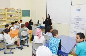العين للتوزيع تقدم سلسلة من ورش العمل التوعوية لطلاب المراكز الصيفية