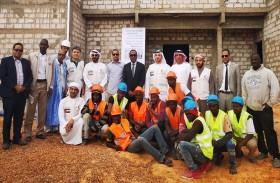 «الهلال» يقف على سير العمل في إنشاء مستشفى «الشيخة فاطمة للأمومة والطفولة» بنواكشوط