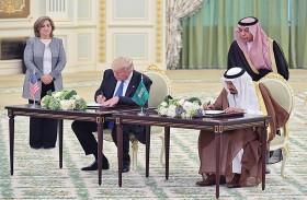 اتفاقيات بين واشنطن والرياض بقيمة 460 مليار دولار