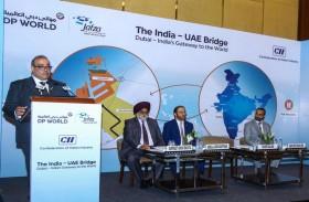 موانئ دبي العالمية تنظم ندوة التجارة والاستثمار لتعزيز التابدل الاقتصادي بين الإمارات والهند