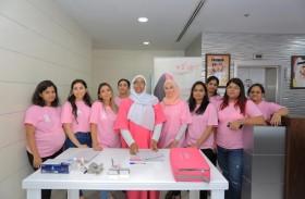 القافلة الوردية تدعو مؤسسات القطاعين الحكومي والخاص للمشاركة في فعاليات أكتوبر الوردي
