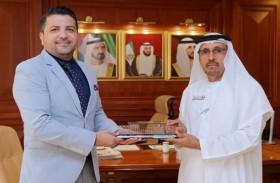 مدير عام محاكم دبي يكرم «دناتا» لتعاونهم المستمر وتفاعلهم الإيجابي