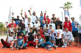 أبطالنا يتألقون في سباق دبي الدولي للدراجات المائية