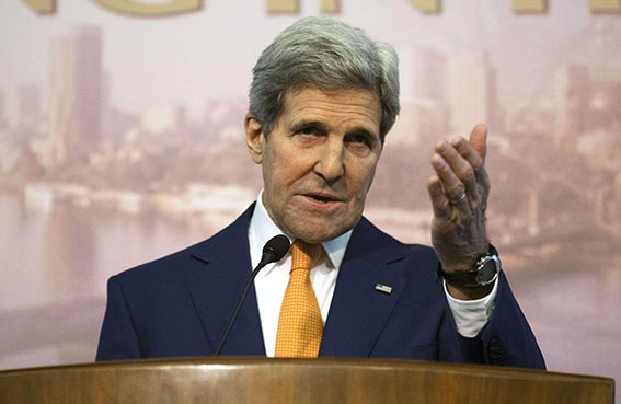 كيري يرحب بإصلاحات مصر في المؤتمر الاقتصادي