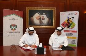 محاكم دبي توقع مذكرة تفاهم مع اتحاد الإمارات لكرة القدم لتحقيق التوعية المجتمعية في مجال الأسرة