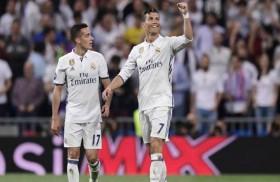 ثلاثية رونالدو تقود ريال مدريد إلى نصف النهائي