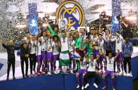 تأهل فريق نادي ريال مدريد الإسباني «حامل اللقب» للعب في بطولة كأس العالم للأندية-الامارات 2017