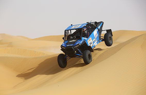 أحمد الفهيم بطل رالي أبوظبي الصحراوي فئة T3
