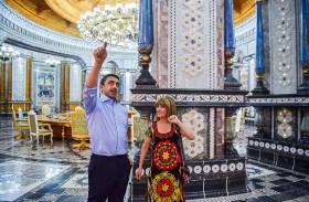 عبدالله بن زايد يزور قصر نوروز الثقافي في طاجيكستان