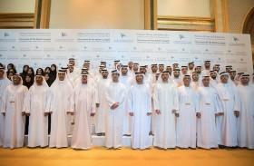 هزاع بن زايد يشهد إطلاق أكبر محطة مستقلة للطاقة الشمسية بالعالم في أبوظبي