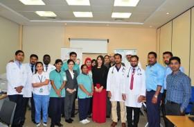 مجموعة بريد الإمارات تنظم فعالية يوم الصحة في مكتب بريد دبي المركزي
