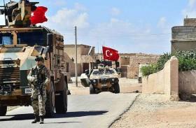 قصف نقطة مراقبة تركية شمال سوريا
