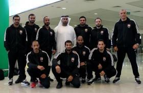 بعثة منتخبنا الوطني للكيك بوكسينج تصل الأردن للمشاركة في البطولة العربية