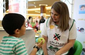 جامعة أبوظبي تنظم الحملة المجتمعية الصحة عنواننا