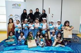 «الشارقة صديقة للطفل» يحتفي بيوم  الطفل الإماراتي مع صغار حضانة الرحمانية