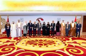 أمل القبيسي تستقبل وفد لجنة الأخوة البرلمانية الإماراتية الأردنية