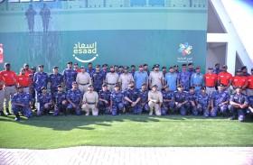 شرطة دبي تختتم دورة الاستجابة الأولى للحالات الفورية