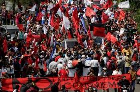 المعارضة في هندوراس تحتج على فوز ايرنانديز