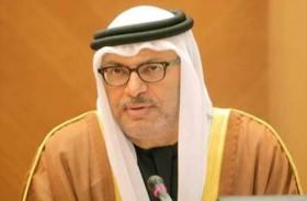 قرقاش: إذا لم تتعامل قطر مع مطالب جيرانها بجدية فالطلاق واقع