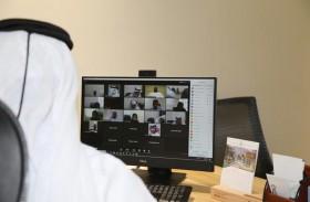 بلدية مدينة دبا الحصن تعقد عن بعد اجتماعها التفاعلي الأول