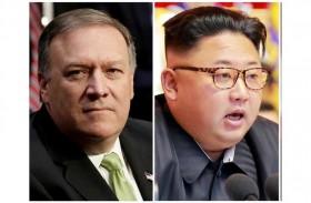بومبيو يجتمع سراً مع زعيم كوريا الشمالية