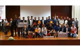 مراكز متقدمة لطلبة الهندسة بجامعة عجمان في مسابقات عالمية
