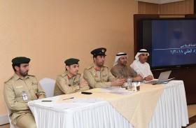 شرطة دبي تنظم مزاداً لمعثورات أمن المطارات ومقتنيات مكافحة المخدرات