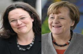المانيا تستنجد بالنساء في مواجهة الفوضى السياسية