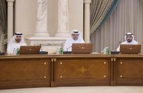 ولي عهد الشارقة يرأس اجتماع المجلس التنفيذي