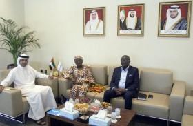 غرفة الفجيرة تبحث سبل التعاون التجاري والاقتصادي مع غانا