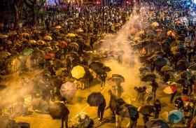 بكين تلوح بالتدخل  في احتجاجات هونغ كونغ
