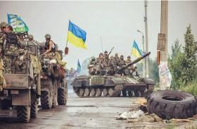 القتال يشتعل في شرق أوكرانيا