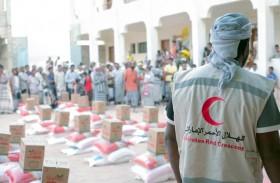 الإمارات تواصل جهودها الميدانية لإغاثة أهالي وادي حضرموت